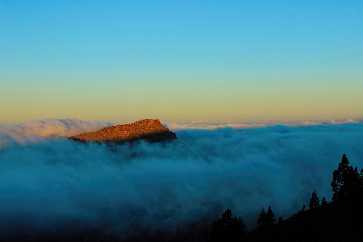 Berggipfel Teneriffa