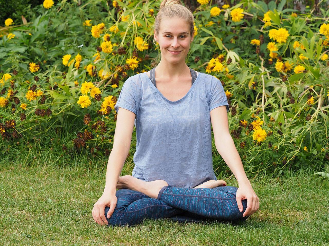 Yoga der Lotussitz
