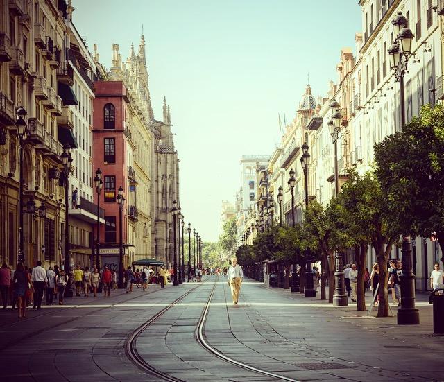 Sevilla- am tollsten bei diesen Spaziergängen sind immer noch die Menschen, die einem begegnen