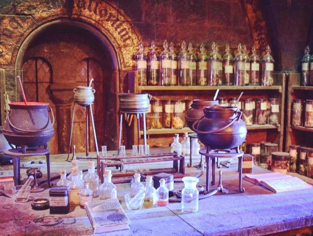 Harry Potter- Der Kerker des Zaubertrankunterrichtes