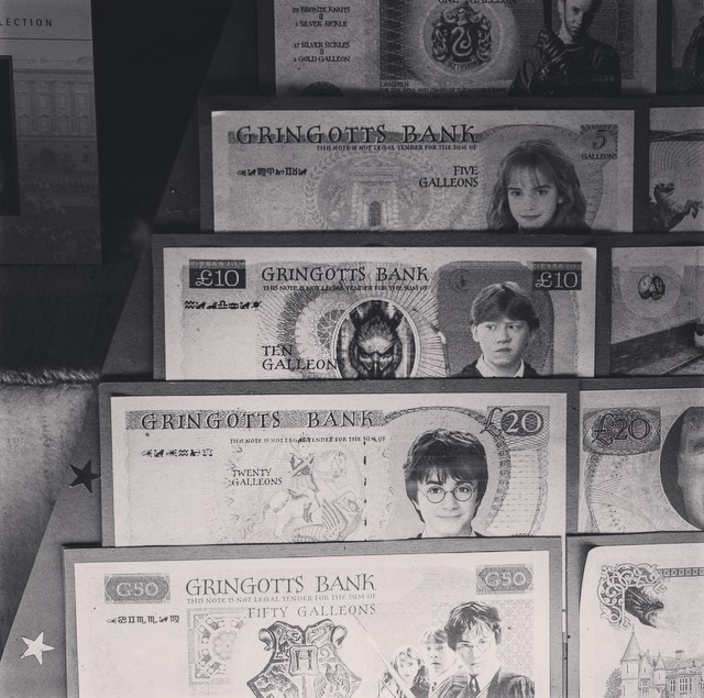Harry Potter- das *räusper* kreative Geld