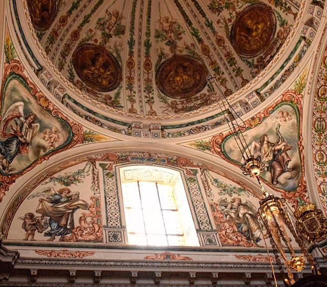 Sevilla- das Innere des Hospital de venerables sacerdotes