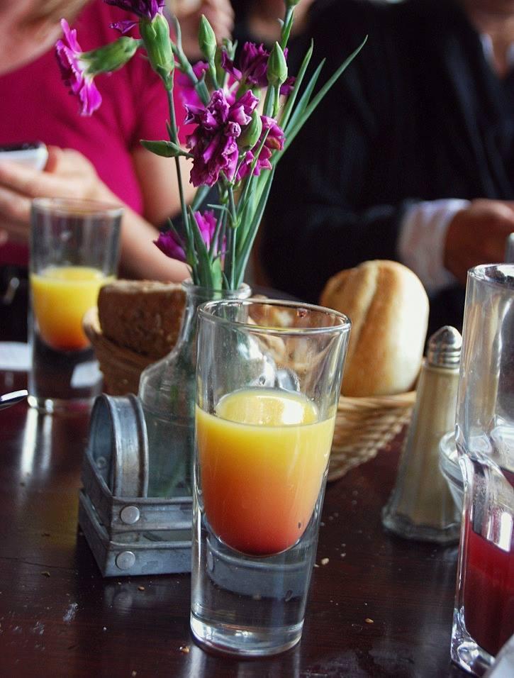 Ein herrlich frischer Absacker aus dem Café Morgenland