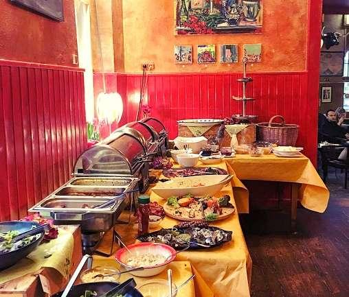 Schraders- das Sonntagsbuffet