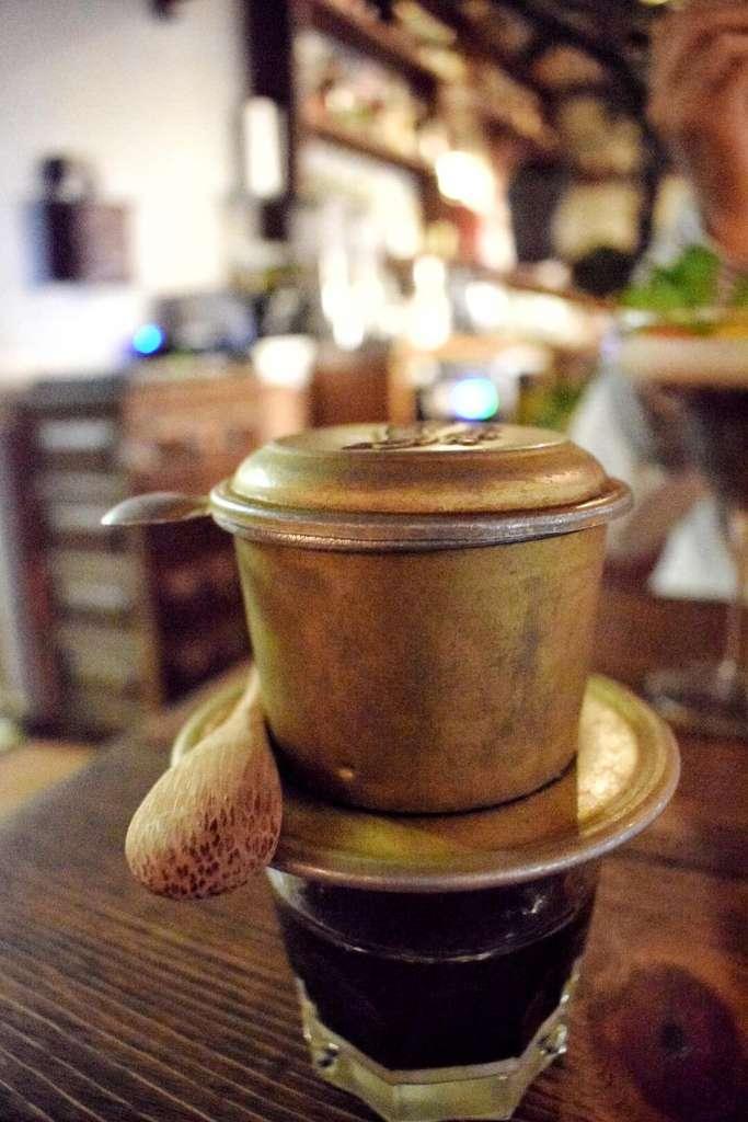 Umami- Kaffeekonstruktion